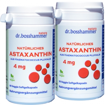 2 bottles Astaxanthin 4 mg of 90 capsules / 180 pcs.