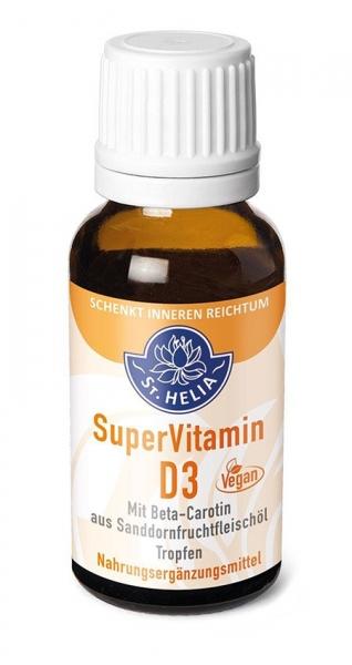 Super Vitamin D3, hochdosiert, 1000 IE, Tropfen, 20 ml, vegan